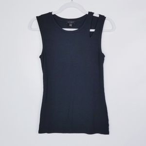 Stich Fix GoldRay Soft Two Layer Sleeveles Top